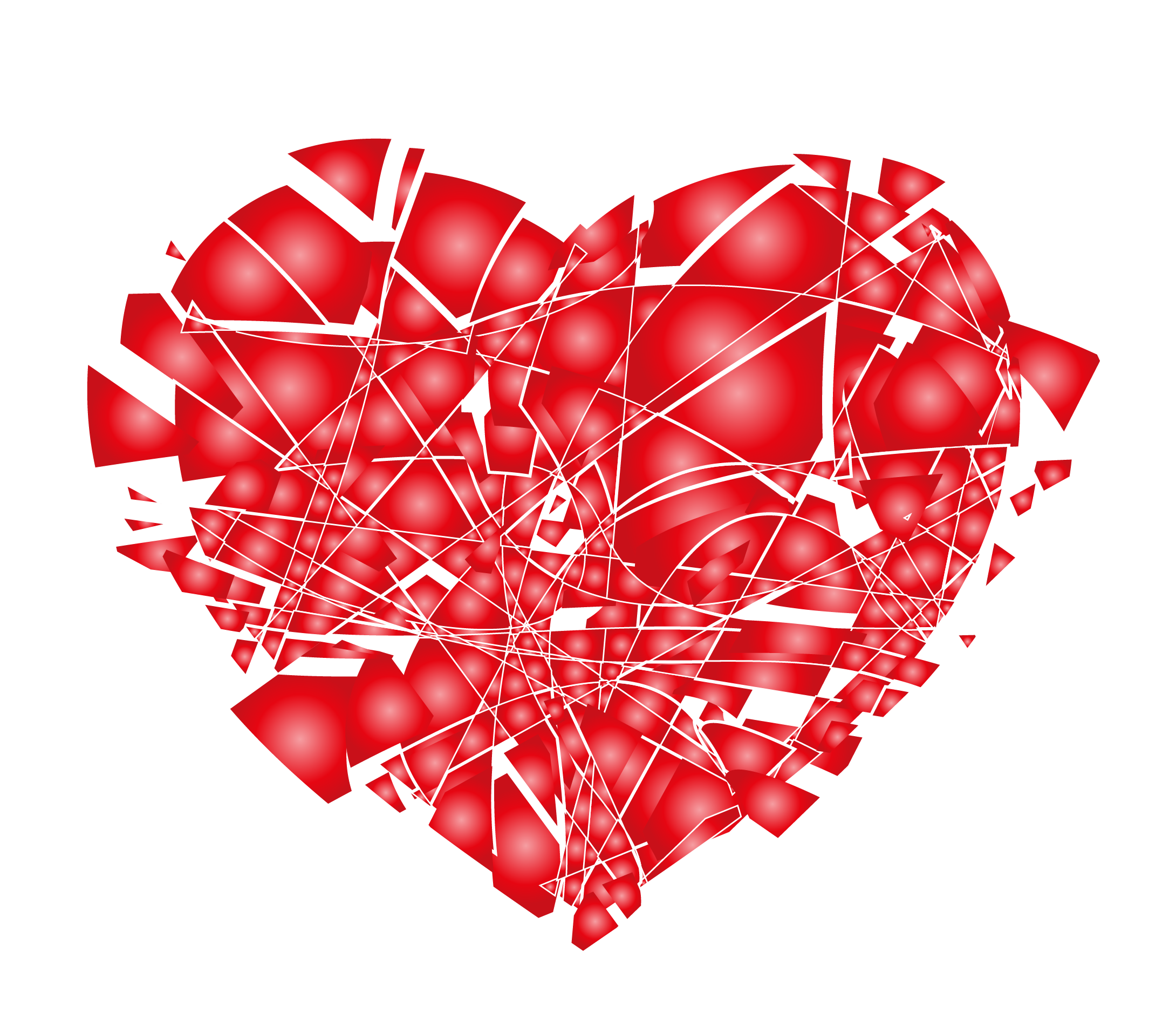 Free clipart broken heart graphic library stock Broken heart Love Clip art - Broken hearts broken explosion 2180 ... graphic library stock