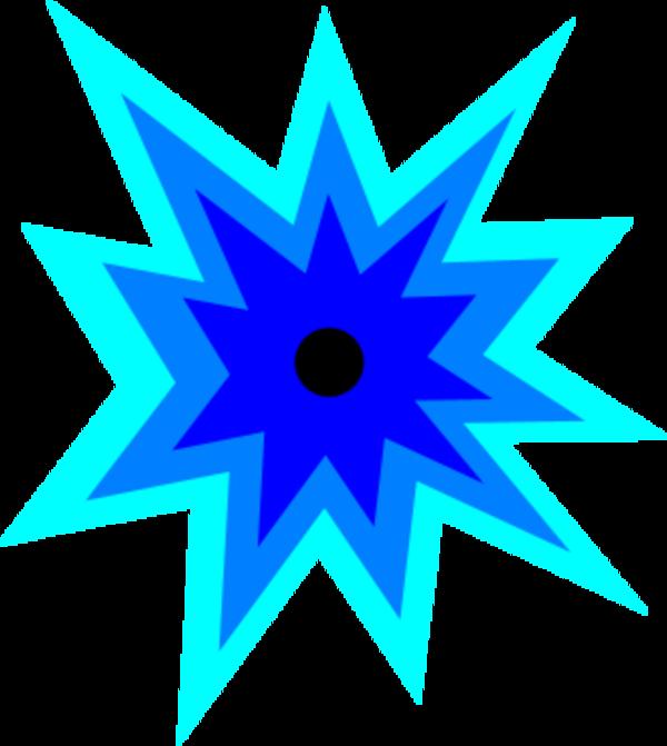 Star blast clipart image black and white stock Explosion clip art clipart clipartbold clipartcow image - Clipartix image black and white stock