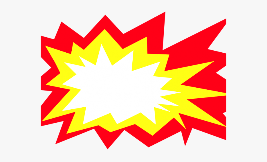 Magic Clipart Explosion - Explosion Clipart , Transparent Cartoon ... picture black and white download