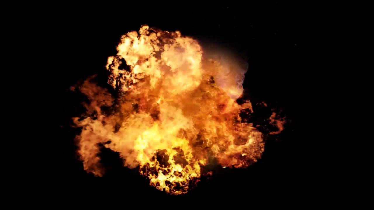 Explosion clipart video clip free Big Explosion Effect Video Mp4 HD Sound clip free