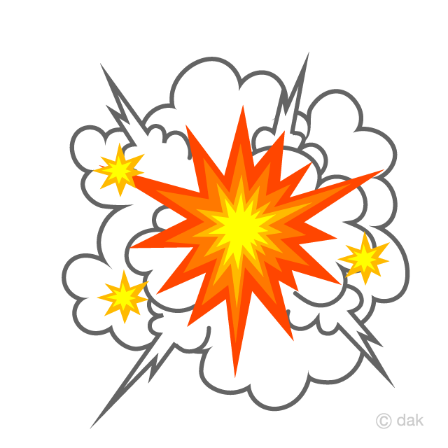 Explosion sparks clipart image transparent Explosive Smoke and Sparks Clipart Free Picture|Illustoon image transparent