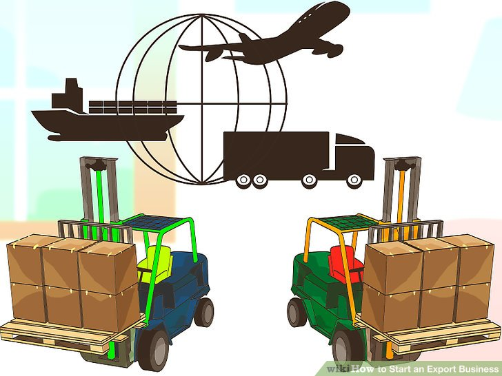 Export clipart graphic black and white How to Start an Export Business (with Pictures) - wikiHow graphic black and white