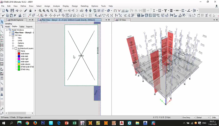 Export clipart autocad picture royalty free How to Import from CAD to ETABS and Export from ETABS to AutoCAD ... picture royalty free