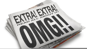 Extra extra read all about it free clipart