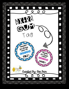 Thanks for going the extra mile gum clipart free download Extra Gum Thank You Worksheets & Teaching Resources   TpT free download