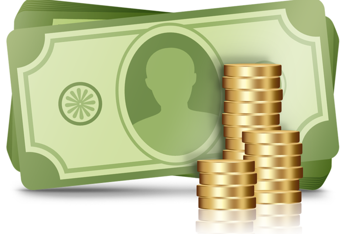 Extra money clipart graphic Extra Income – The Dividend Investor Blog graphic