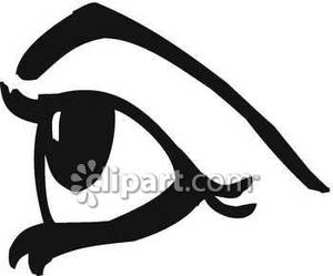 Eye clipart from side graphic royalty free library Eye clipart side - ClipartFest graphic royalty free library