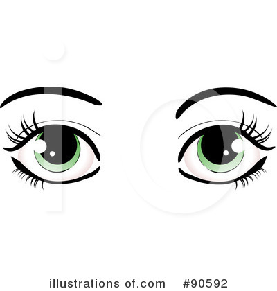 Eye cliparts vector black and white Clip Art Of Eyes & Clip Art Of Eyes Clip Art Images - ClipartALL.com vector black and white