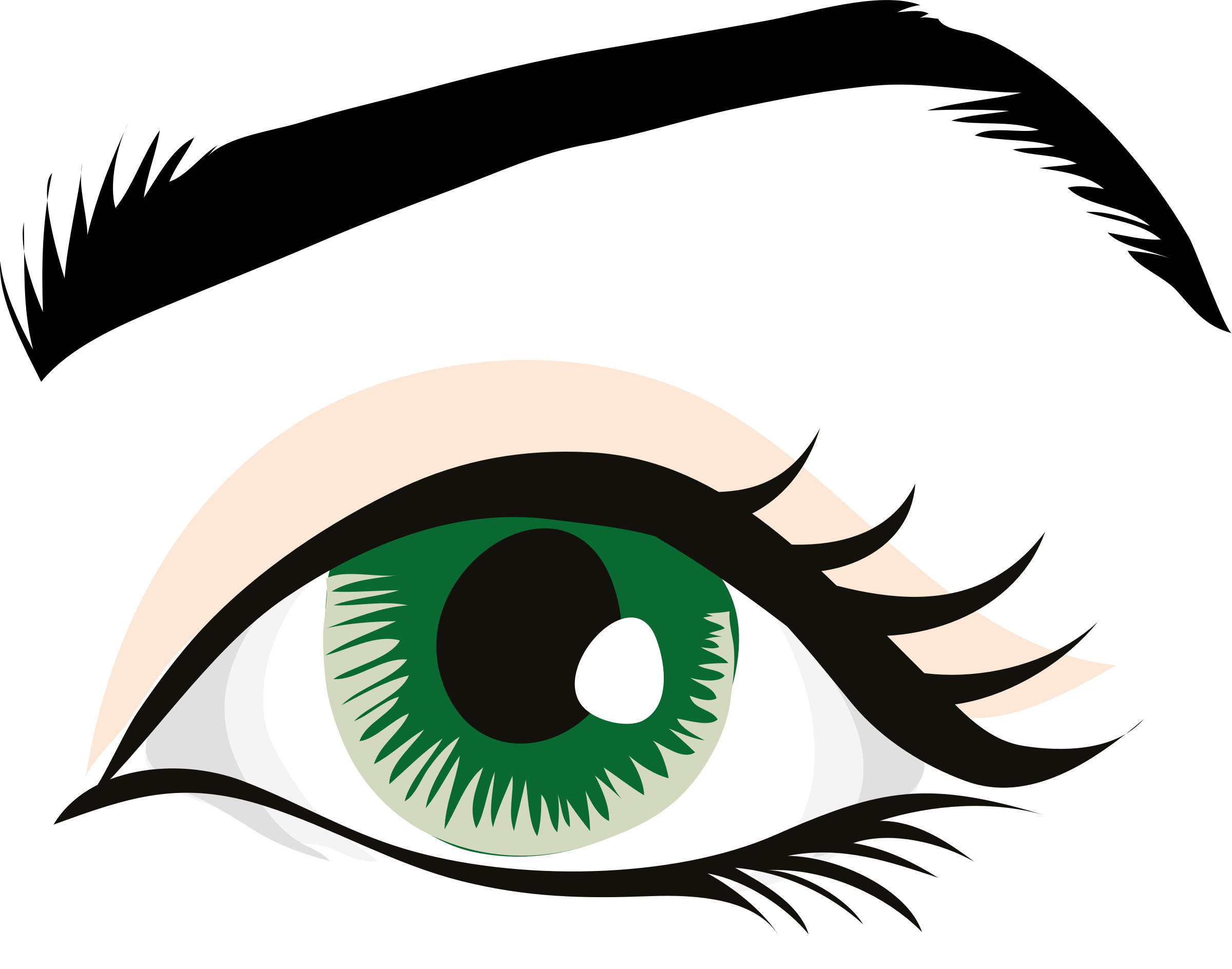 Eye color clipart clip art black and white library Human Eye Eye Color Clip Art - Eye Pupil 2 #329397 - Clipartimage.com clip art black and white library