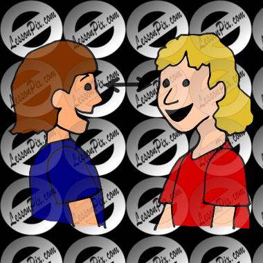 Eye contact clipart banner transparent Clipart Eye Contact - Best Free Library banner transparent