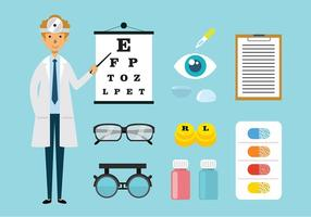 Eye doctor clipart svg black and white stock Eye Doctor Free Vector Art - (6,998 Free Downloads) svg black and white stock