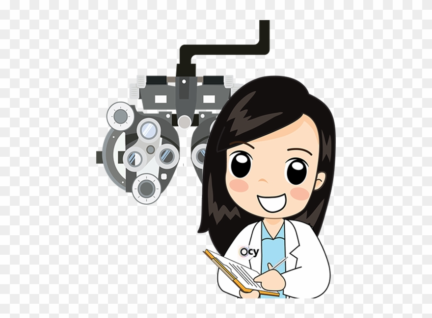 Eye doctor clipart clip art royalty free library You May Visit Your Eye Doctor And Express Your Desire - Cartoon ... clip art royalty free library