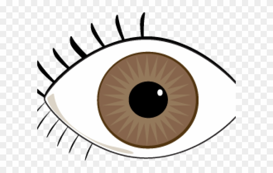 Eye eye clipart vector transparent download Blue Eyes Clipart Brown Eye - Our Eyes And Ears - Png Download ... vector transparent download