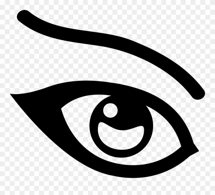 Eye icon clipart graphic free stock Eye, Optic, Orb, Pass, Password, Show, View Icon - Eye Icon Png ... graphic free stock