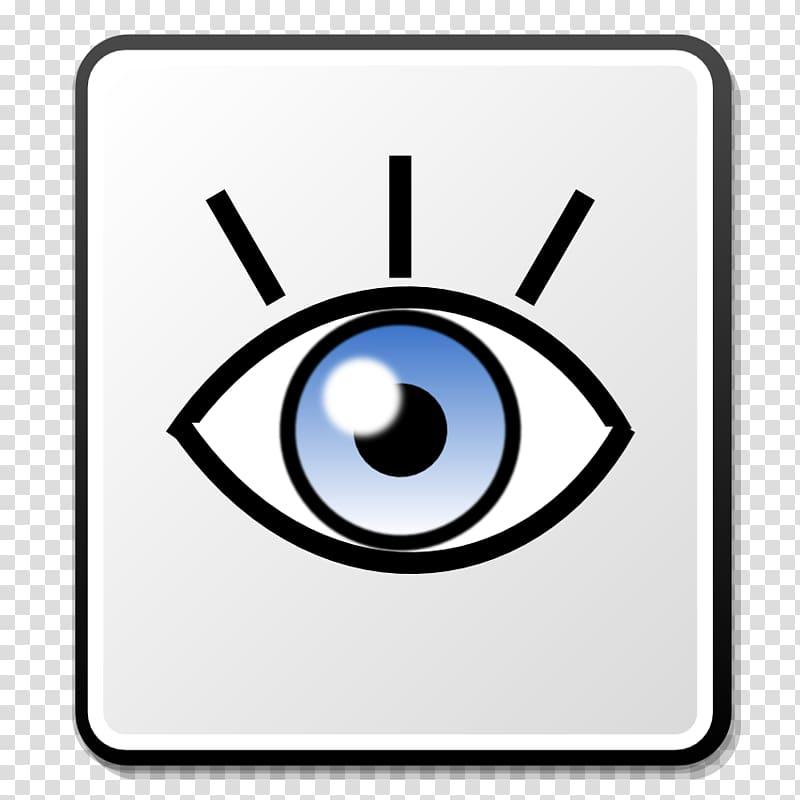 Eye icon clipart clip art library Computer Icons Nuvola, Description Nuvola Eye Icon transparent ... clip art library