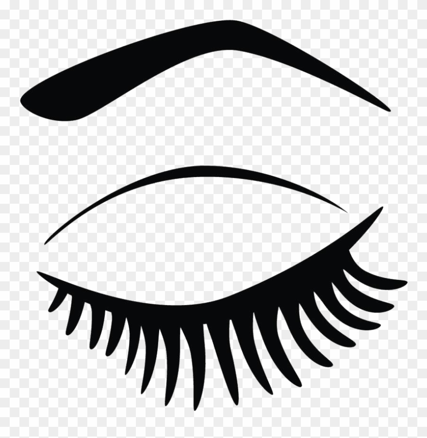 Eyelash clipart png clipart black and white download Kisspng Eyelash Extensions Clip Art Hand Painted Eyes - Clip Art ... clipart black and white download