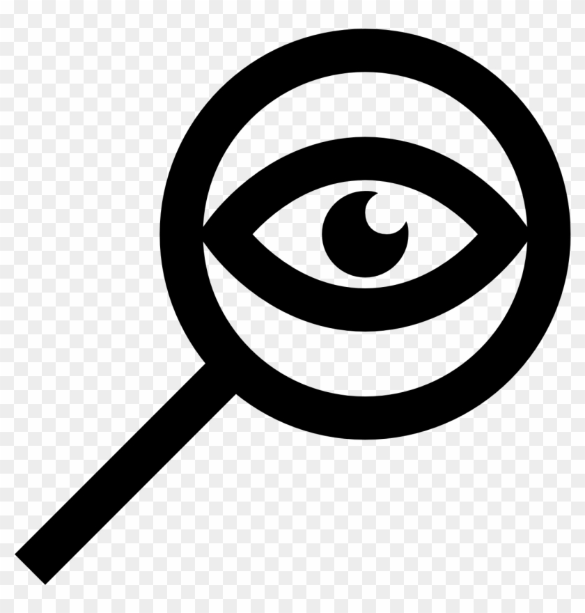Eye magnifying glass clipart picture free library Eye Clipart Magnifying Glass - Detective Eye Icon, HD Png Download ... picture free library