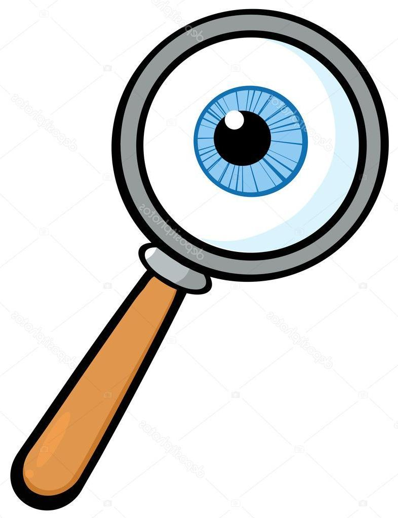 Eye magnifying glass clipart vector freeuse library Top Magnifying Glass Clip Art Design » Free Vector Art, Images ... vector freeuse library