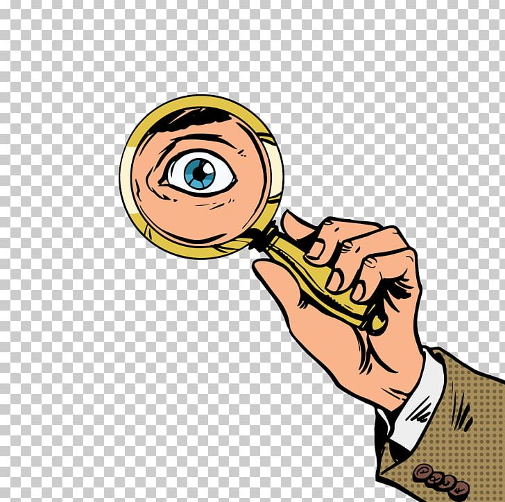 Eye magnifying glass clipart clip free library Human Eye Magnifying Glass Illustration PNG, Clipart, Arm, Cartoon ... clip free library