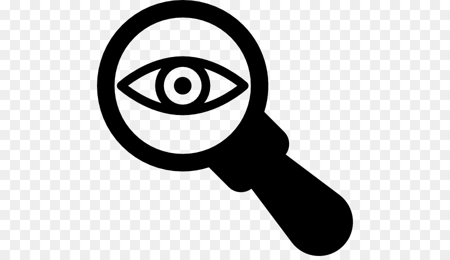 Eye magnifying glass clipart picture freeuse download Magnifying Glass Symbol clipart - Glass, Eye, Line, transparent clip art picture freeuse download