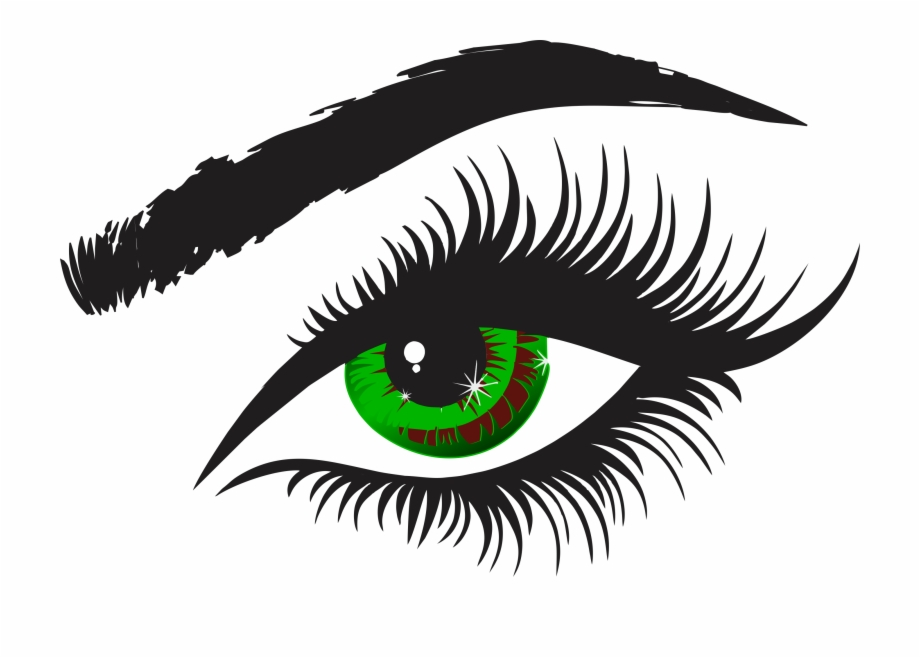 Eye with lashes clipart jpg library library Eye With Lashes Clipart Free PNG Images & Clipart Download #486772 ... jpg library library