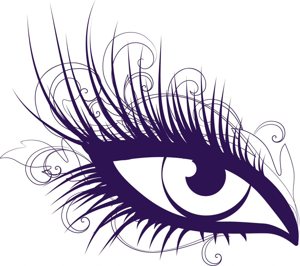 Eye with lashes clipart png black and white library Free Eyelashes Cliparts, Download Free Clip Art, Free Clip Art on ... png black and white library