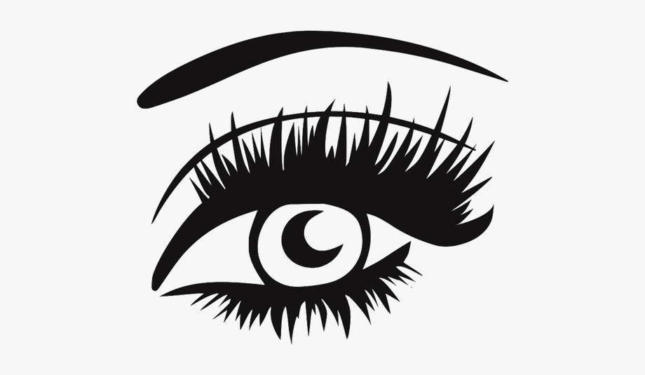 Eye with lashes clipart graphic freeuse stock Eyelash Clipart Thick - Eye With Lashes Png #243345 - Free Cliparts ... graphic freeuse stock