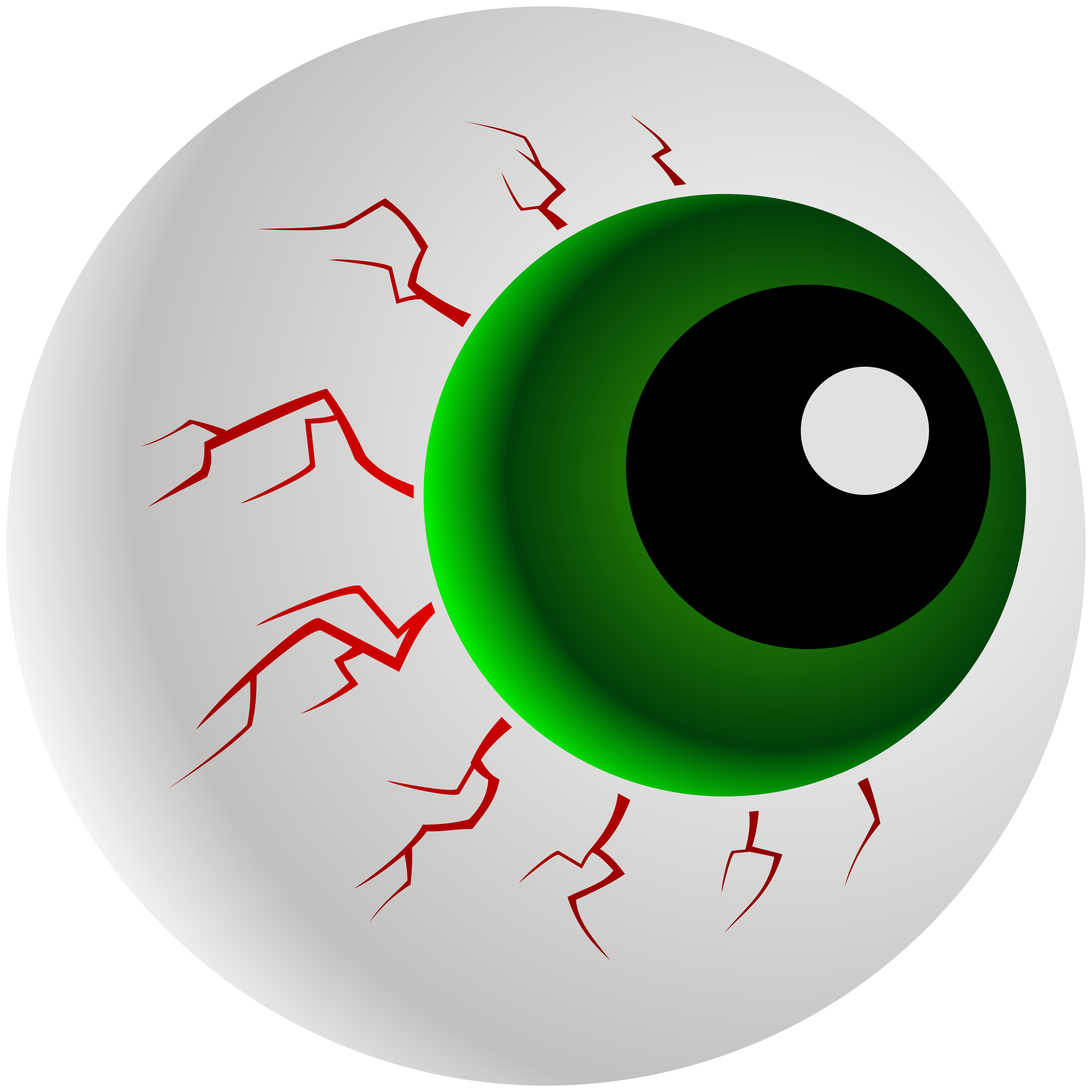 Eyeball clipart halloween vector freeuse stock Giant Eyeball PNG Clipart Image | Gallery Yopriceville - High ... vector freeuse stock