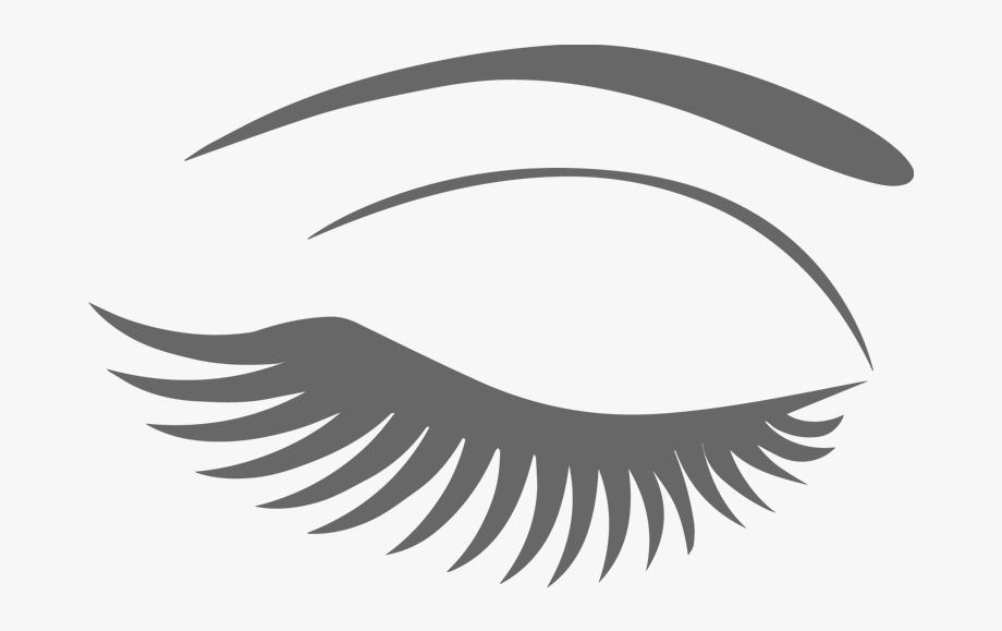 Eyelash logo clipart svg transparent Eyelash Clipart Pretty - Eyelashes Clipart Png #52548 - Free ... svg transparent
