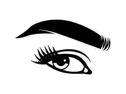 Eyelash vector clipart png transparent Amazon.com: Yetta Quiller Women Eye Eyebrow Eyelash Eyeball Beauty ... png transparent