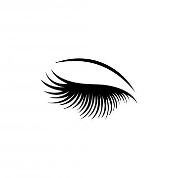 Free eyelash clipart. Eyelashes png vector psd