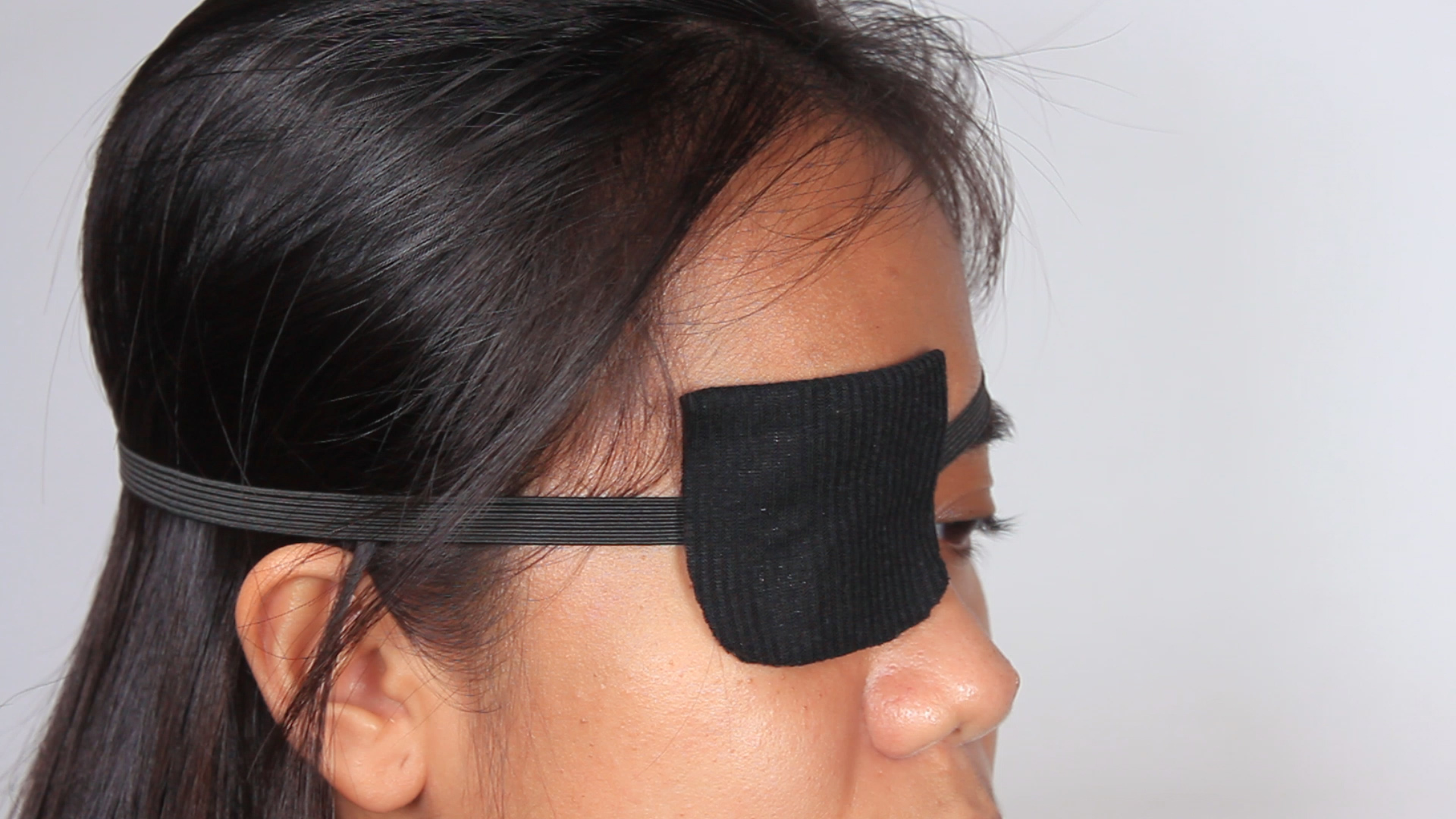 Eyepatch transparent real -vector -clipart costume png black and white library How to Make an Eyepatch: 11 Steps (with Pictures) - wikiHow png black and white library