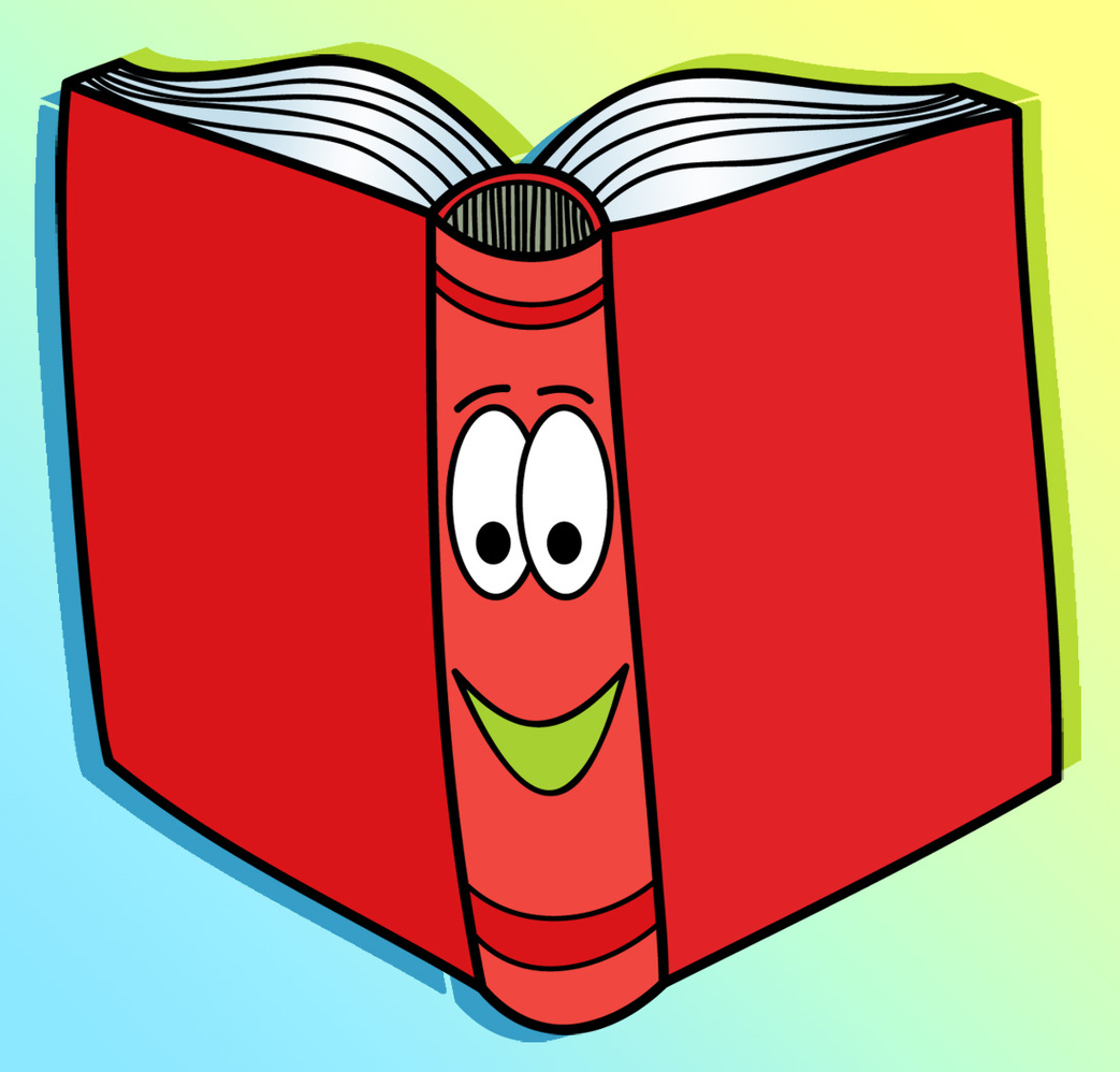 Eyes in book clipart