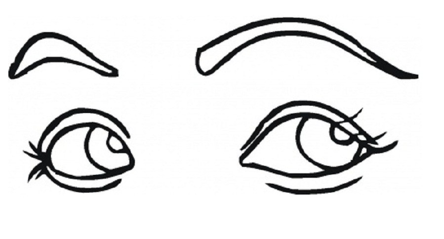 Eyes in book clipart vector free stock eye coloring sheet az coloring pages. eye coloring page ... vector free stock