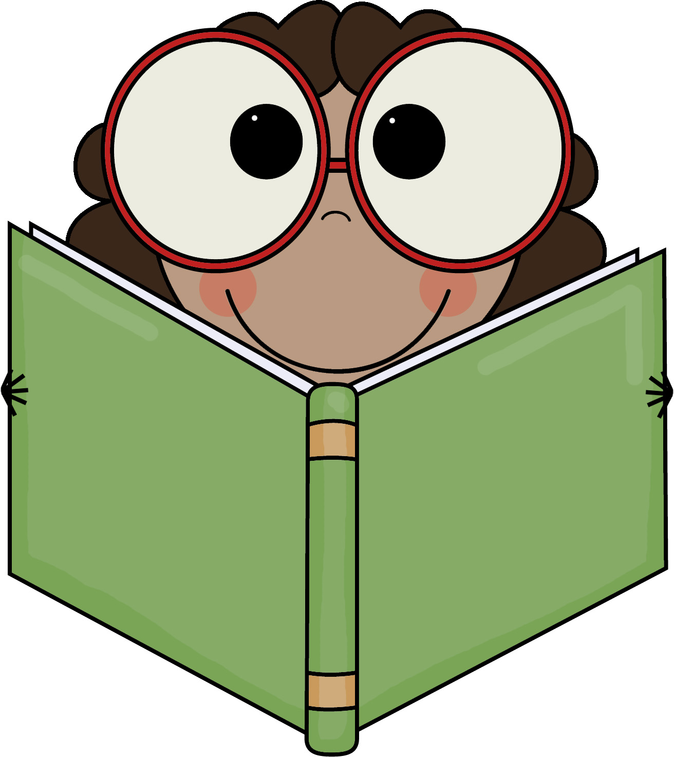 Eyes in book clipart jpg freeuse download Book clipart eyes - ClipartFest jpg freeuse download