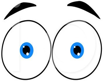 Eyes looking clipart clipart black and white download Eyeballs looking eyes clip art free clipart images - ClipartBarn clipart black and white download