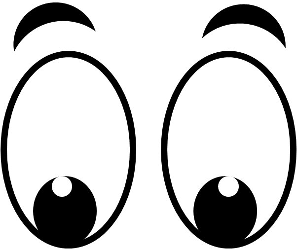 Eyes looking clipart clip art free library Free Cartoon Eyes Cliparts, Download Free Clip Art, Free Clip Art on ... clip art free library