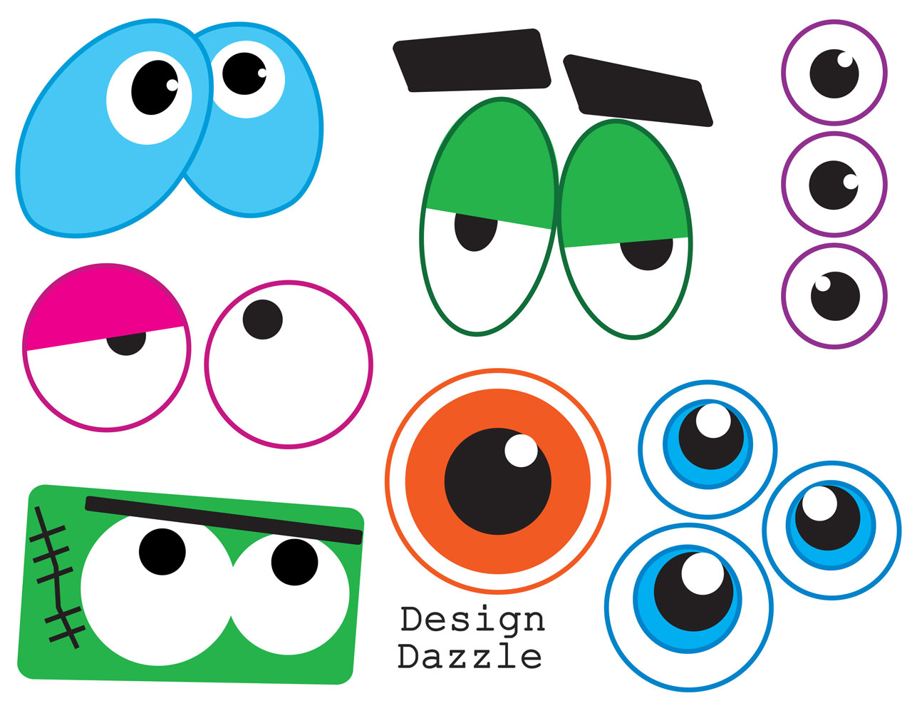 Eyes monster clipart picture freeuse download Free Monster Eyes Cliparts, Download Free Clip Art, Free Clip Art on ... picture freeuse download