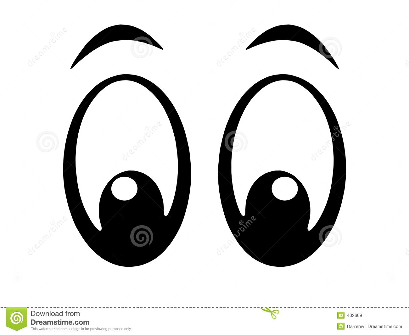 Free clipart images eyes vector free library Eyes Bw Royalty Free Stock Images - Image: 402609 | Nursing ... vector free library