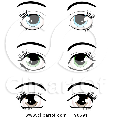 Eye Lashes With Red Hearts Clipart - Clipart Kid svg freeuse download