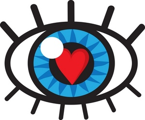 Eyes with hearts clipart - ClipartFest freeuse stock