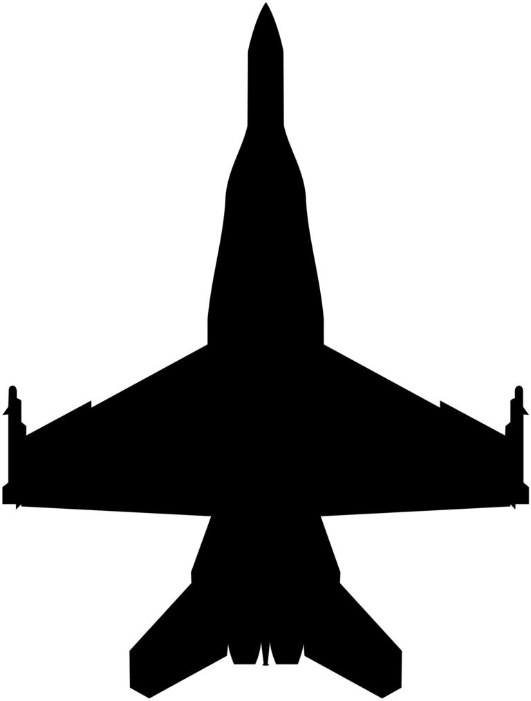 F-18 clip art - ClipartFest banner free