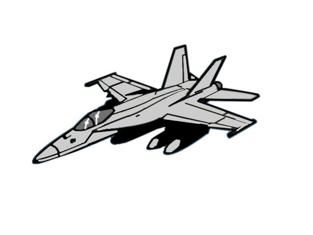 F-18 hornet clip art - ClipartFox clip black and white library