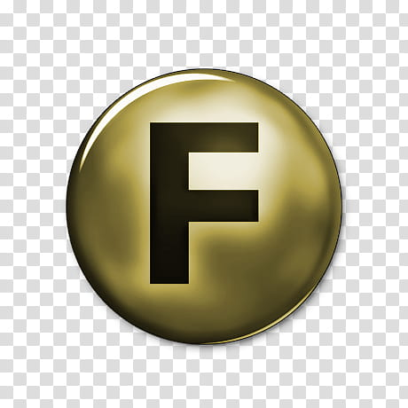 F clipart logo png transparent stock Network Gold Icons, fark-, round gold f logo transparent background ... png transparent stock