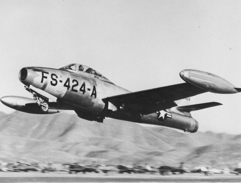 F-80 shooting star clipart black and white clip royalty free library Republic F-84 Thunderjet - Wikipedia clip royalty free library