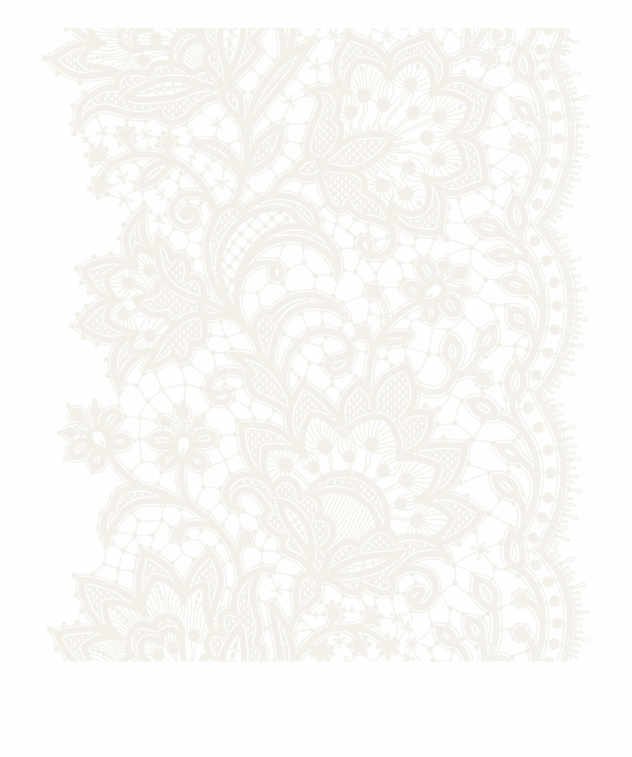 Fabric pattern clipart graphic black and white stock Transparent Lace Fabric Patterns Background - Lace Pattern Free ... graphic black and white stock