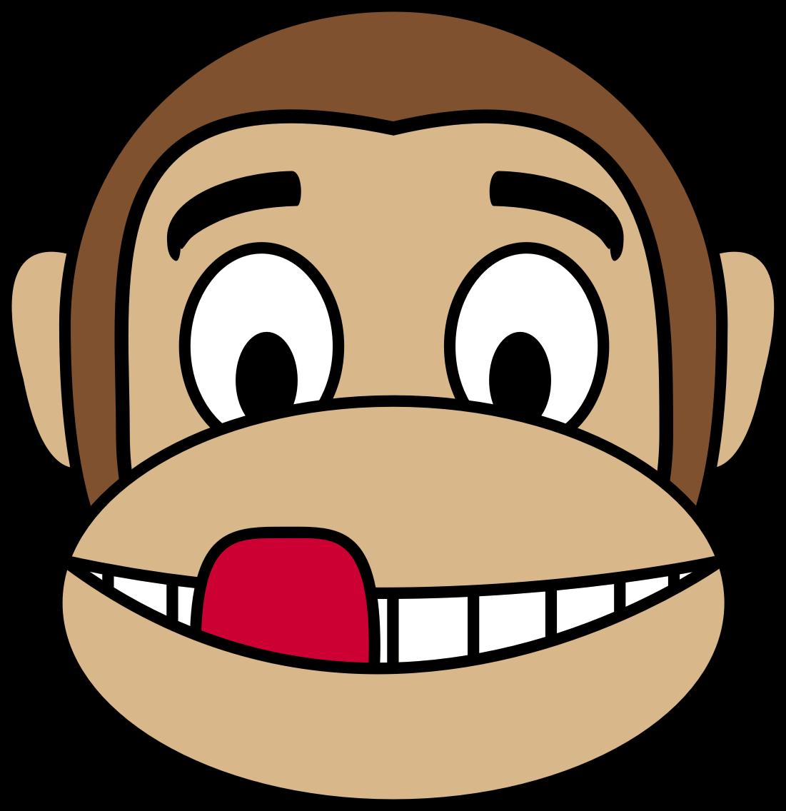 Ugly dog face clipart jpg library Monkey Face Clipart | Free download best Monkey Face Clipart on ... jpg library
