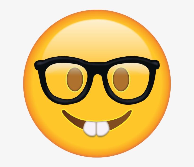 Face emoji clipart clip art free Killzone Clipart Smiley Face - Nerd Face Emoji Png - Free ... clip art free