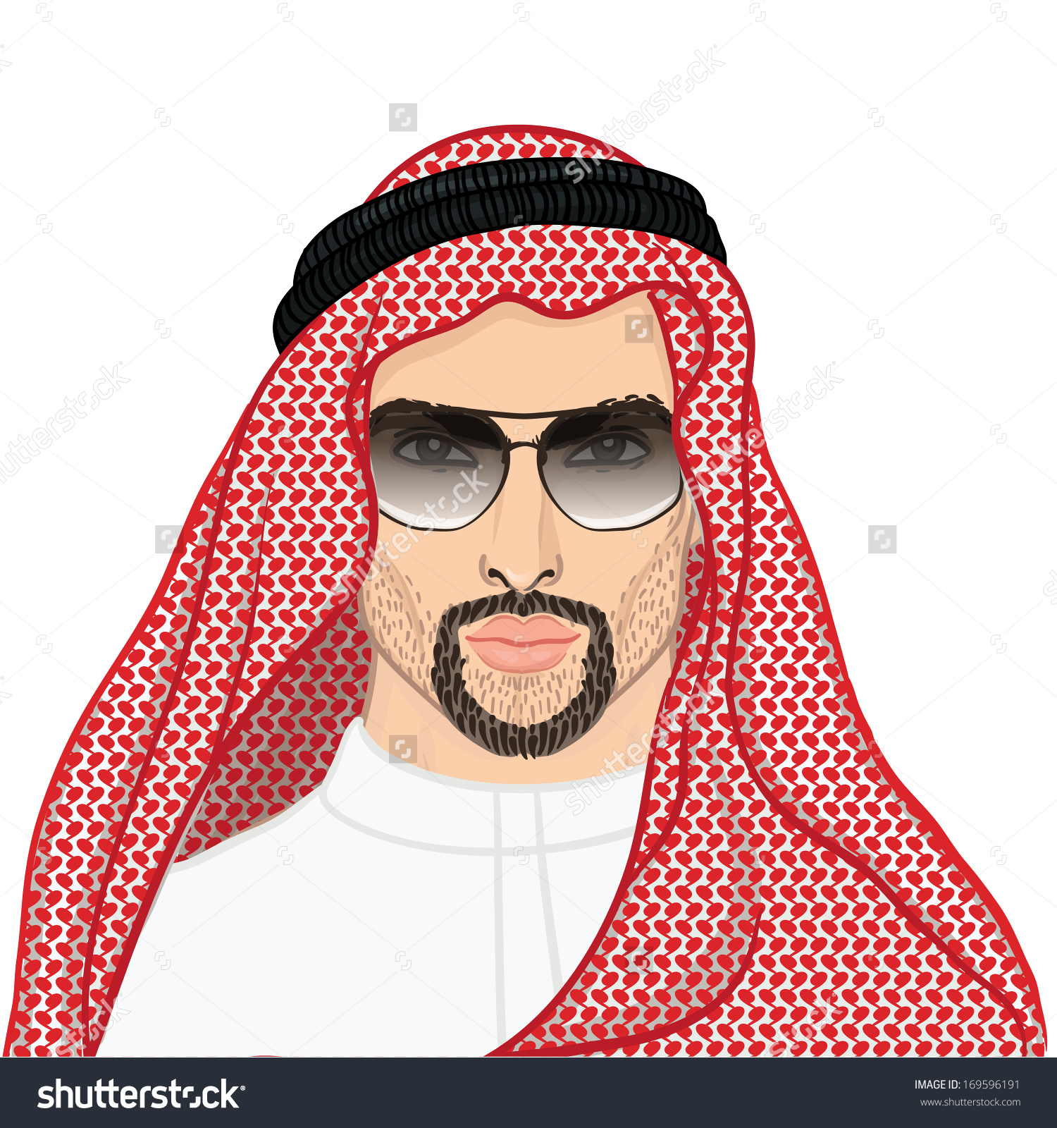 Face for arabic man clipart clip art free download Saudi man face clipart - ClipartFest clip art free download