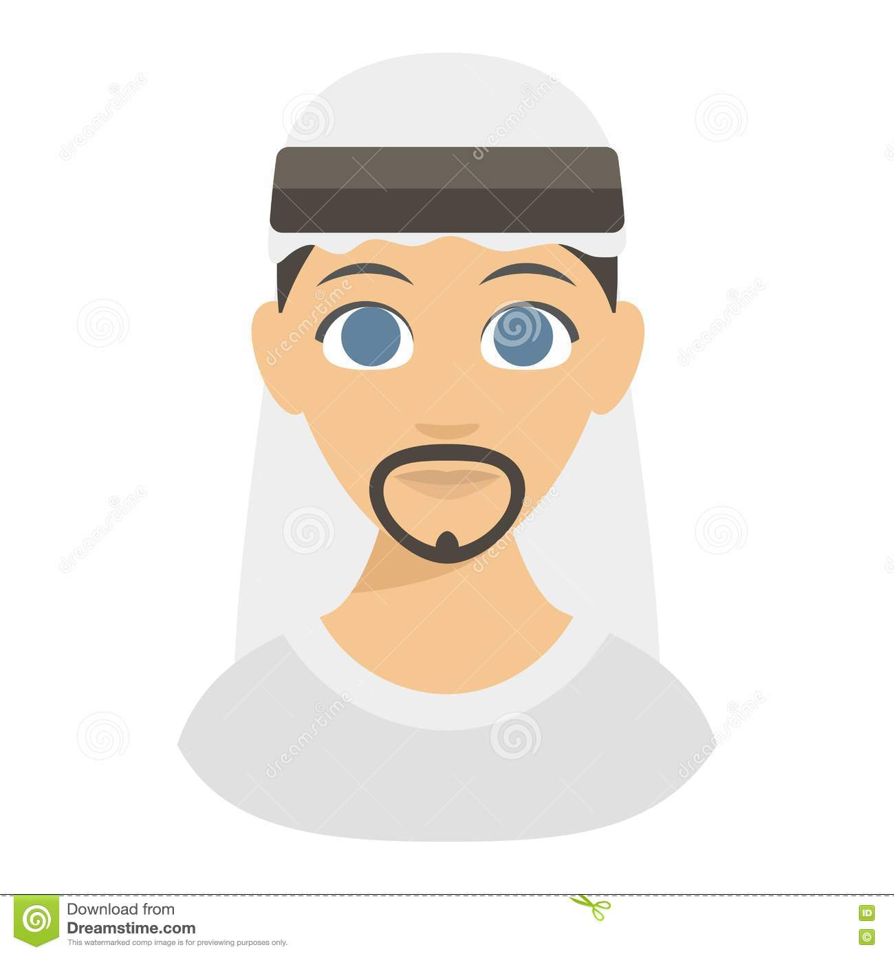 Face for arabic man clipart svg Arabic Man Face Vector Stock Vector - Image: 79943557 svg